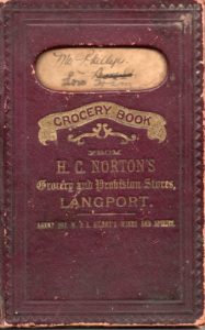 Grocery book
